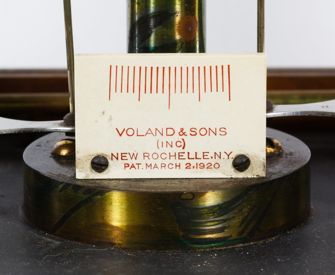 Voland & Sons Mahogany Cased Analytical Balance Scale - 3