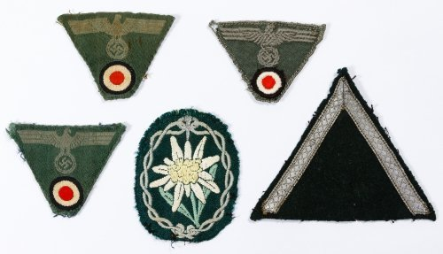 World War II German Patch Assortment