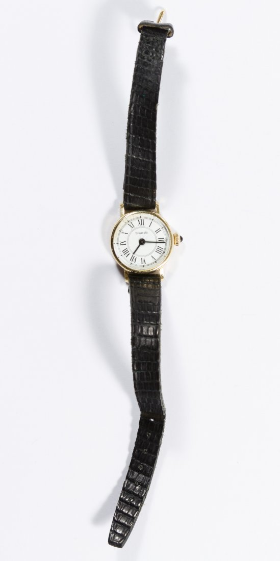 Tiffany & Co 14k Gold Cased Wrist Watch