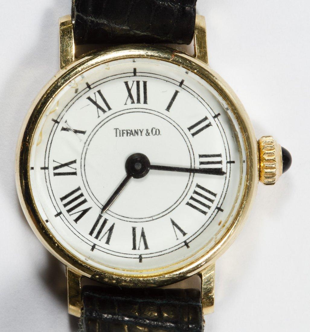 Tiffany & Co 14k Gold Cased Wrist Watch - 2