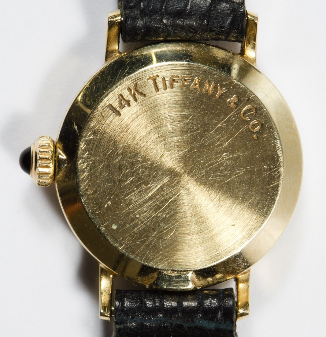 Tiffany & Co 14k Gold Cased Wrist Watch - 3