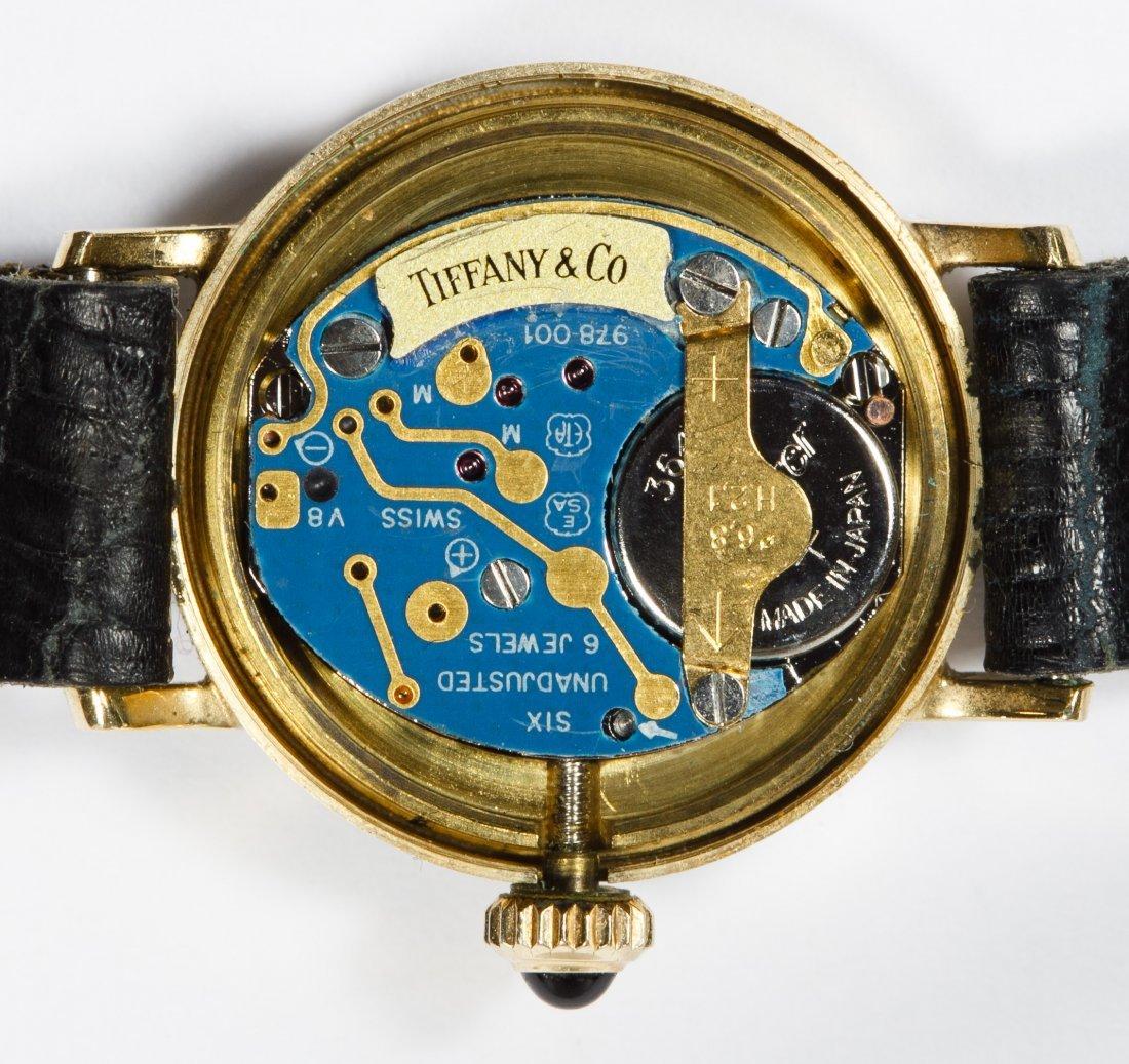 Tiffany & Co 14k Gold Cased Wrist Watch - 4