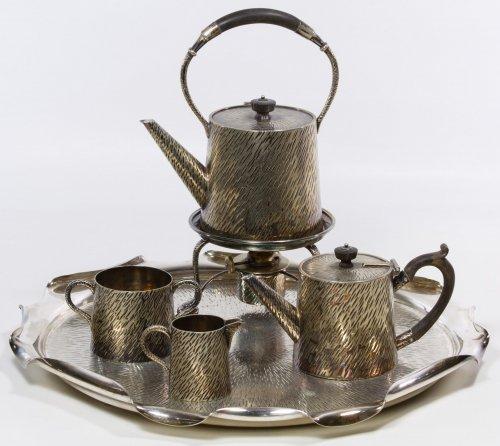 Hukin and Heath Silverplate Tea Service