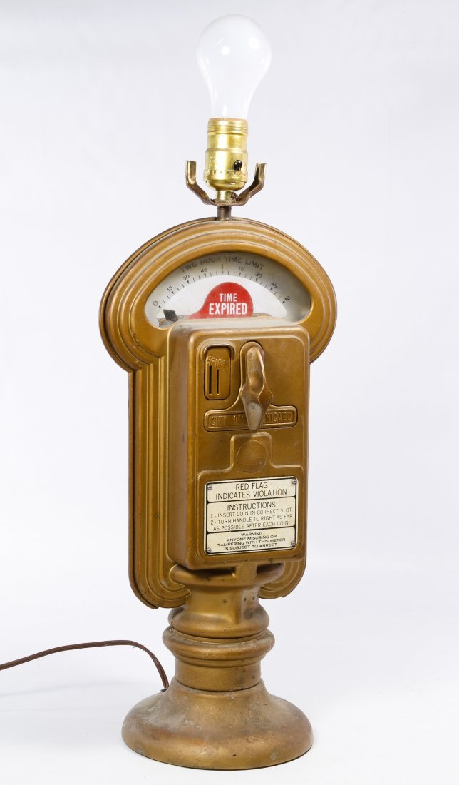Parking Meter Table Lamp by Duncan Industries
