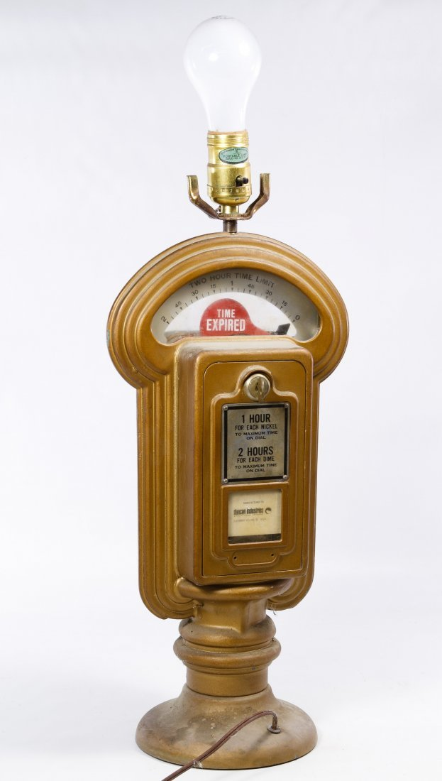 Parking Meter Table Lamp by Duncan Industries - 2