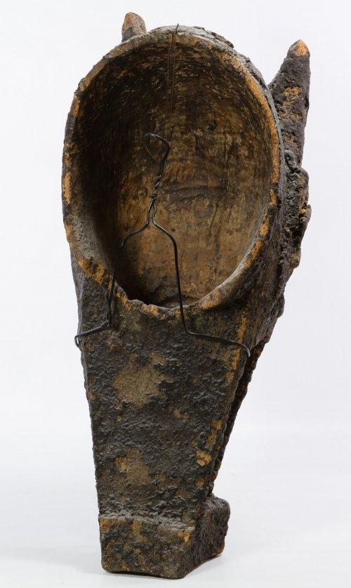 Wooden Mali Bamana Hyena Mask - 2