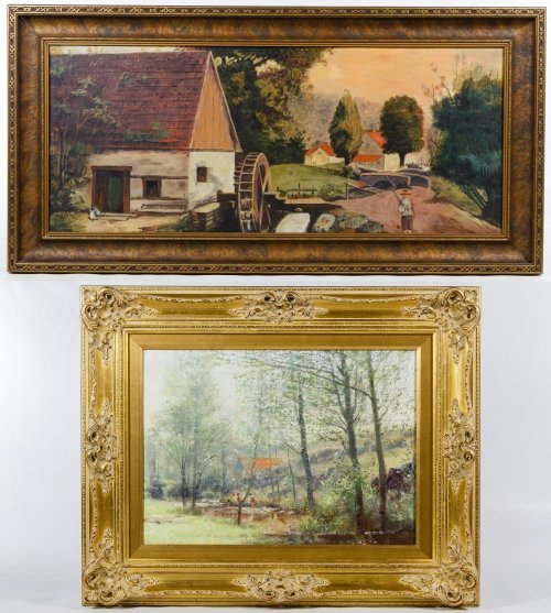 Unknown Artist (European, 20th Century) Oil on Canvas