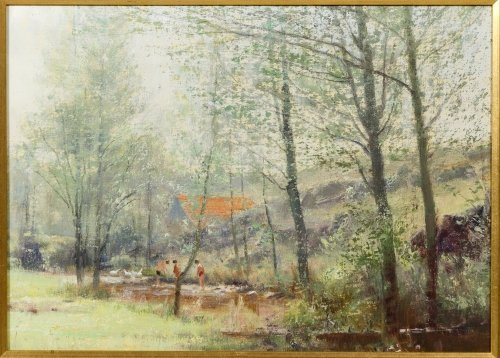 Unknown Artist (European, 20th Century) Oil on Canvas - 2