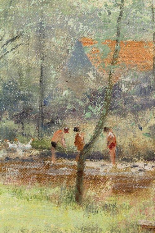 Unknown Artist (European, 20th Century) Oil on Canvas - 3