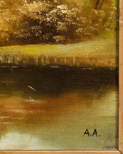 Unknown Artist (European School, 20th Century) Oil on - 3