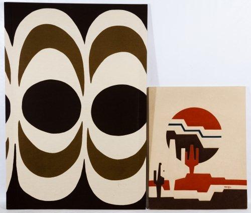 Marimekko (Finland, 20th Century) 'Kaivo' Fabric Art