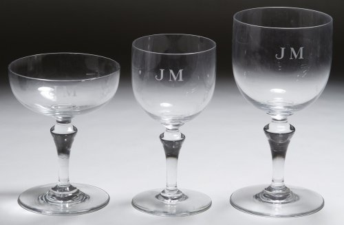 Baccarat Crystal Stemware Assortment