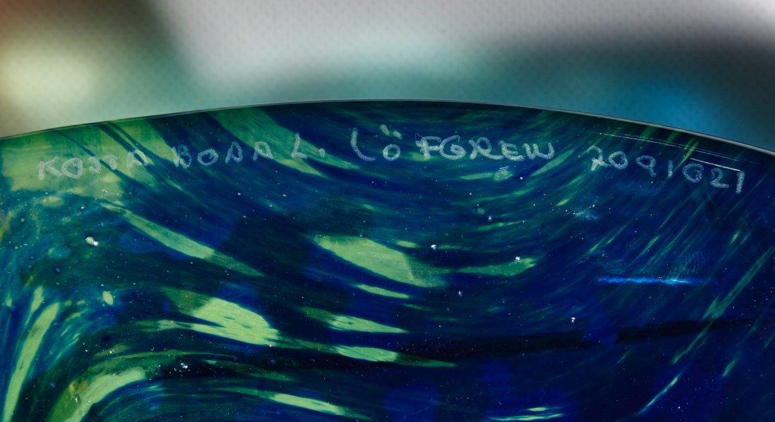 Kosta Boda Art Glass Leaf by Ludvig Lofgren - 2