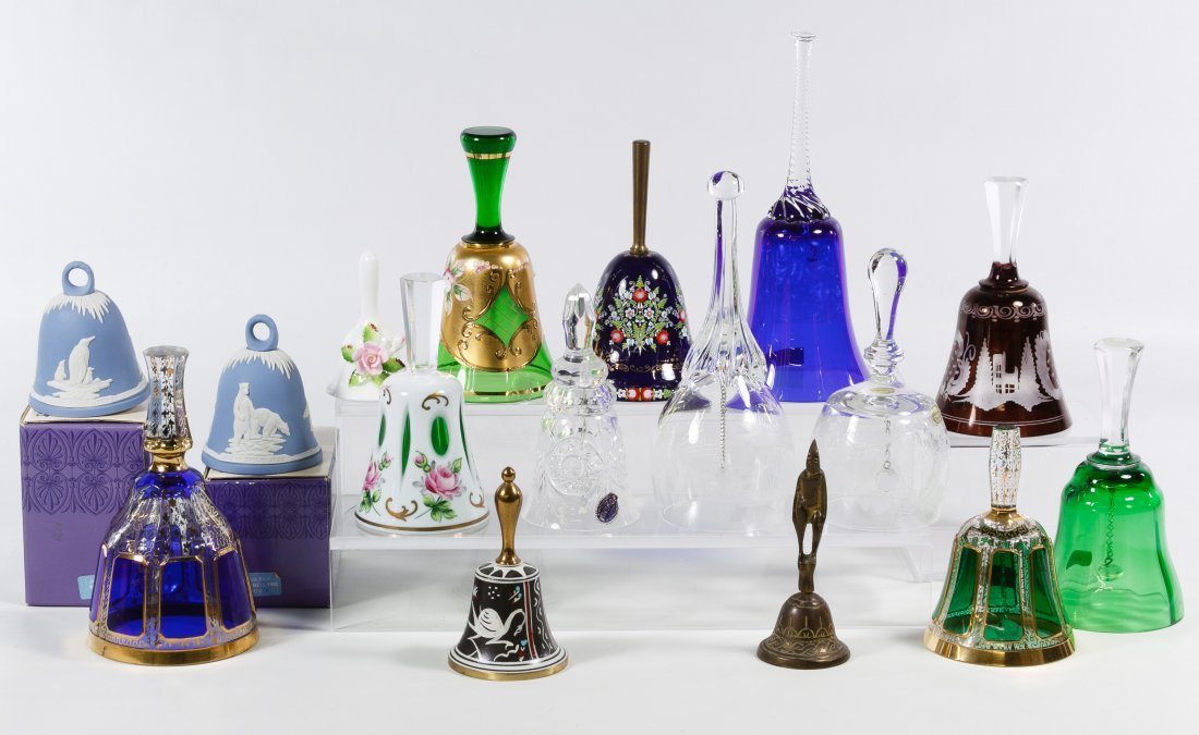 Glass and Ceramic Bell Assortment