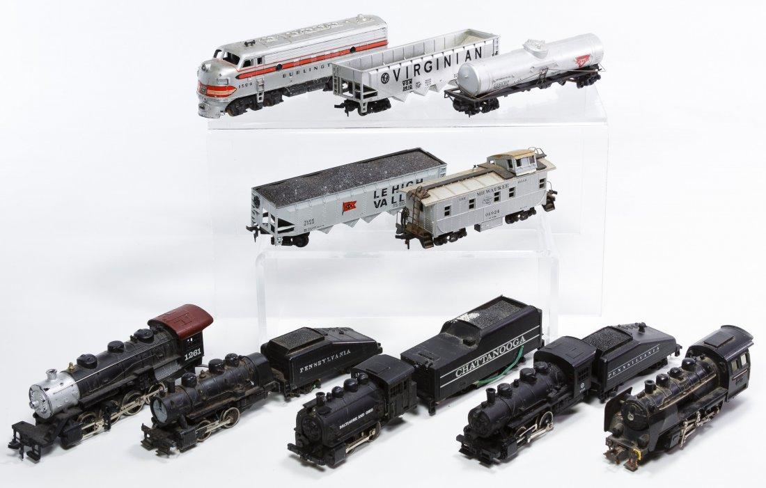 HO Toy Model Train Assortment