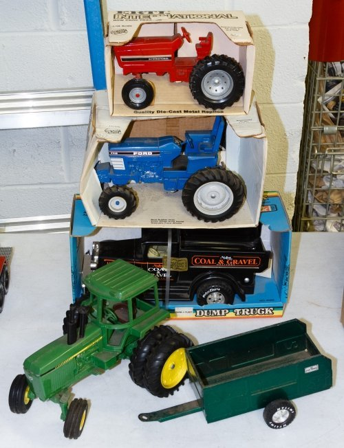 Ertl and Nylint Steel Toy Truck Assortment