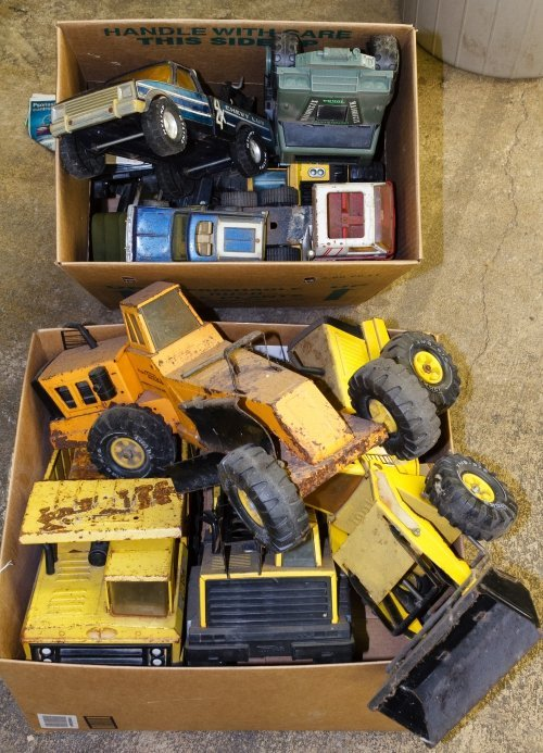 Tonka, Nylint and Buddy L Toy Vehicle Assortment