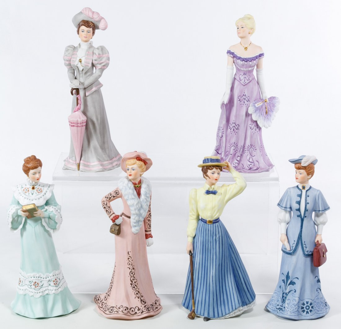 Hamilton Collection 'The Gibson Girls' Figurine