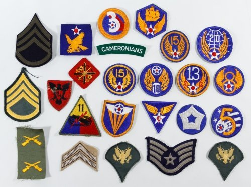 US Military Patch Assortment