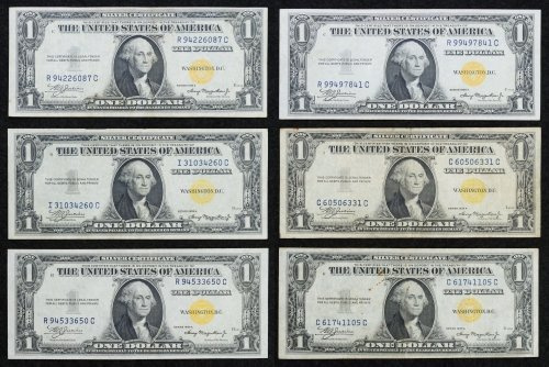1935-A $1 'North African' Silver Certificates