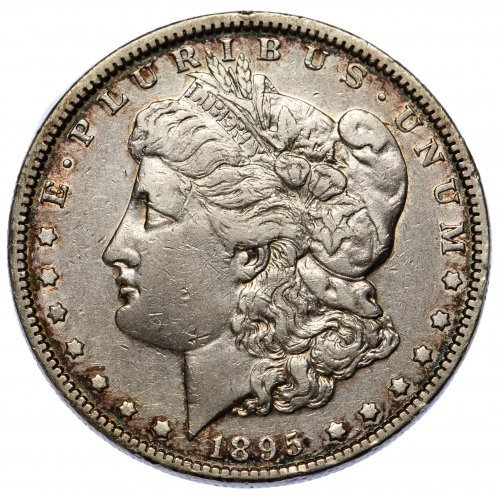 1895-O $1 VF+