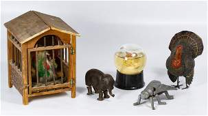Antique Toy Assortment