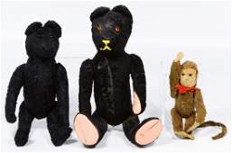 Black Bear and Monkey Assortment