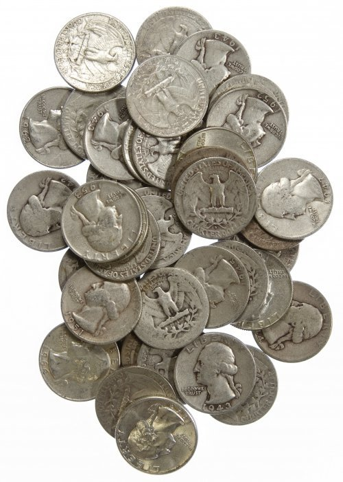 Washington 25c Silver Assortment