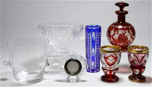 Waterford and Tiffany & Co. Crystal Assortment