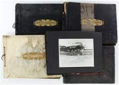 World War II Era Scrapbook and Photo Album Assortment