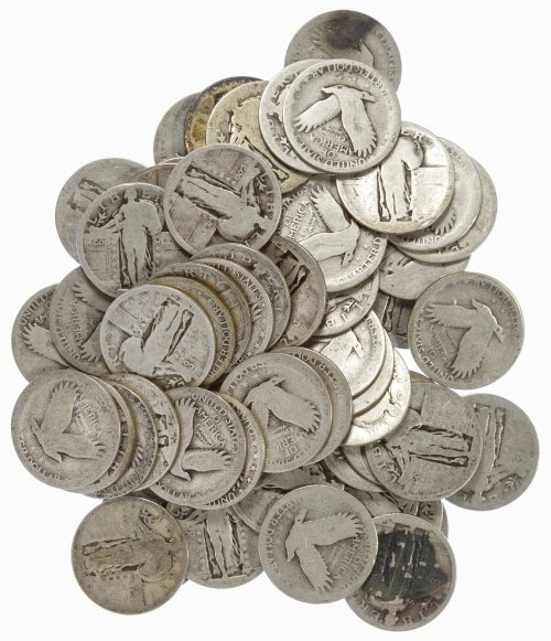 Standing Liberty 25c Silver Assortment