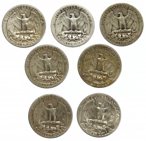 Washington 25c Silver Assortment - 2