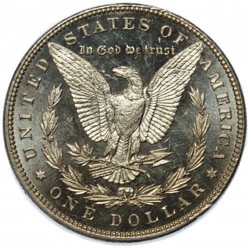1899 $1 DMPL Unc - 2