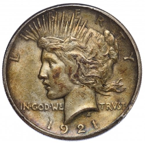 1921 $1 Peace VF