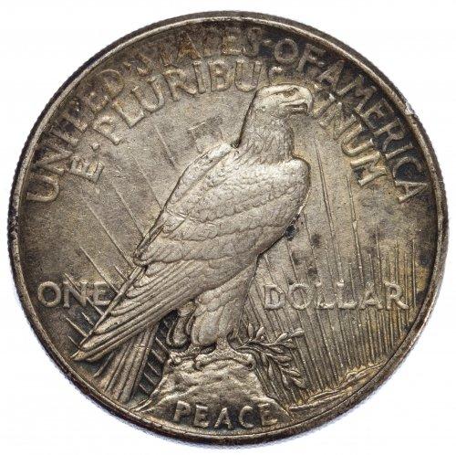 1921 $1 Peace VF - 2