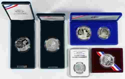 US Silver Commemorative Assortment