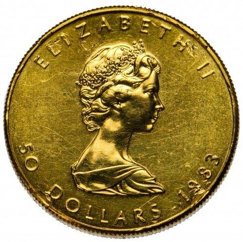 Canada: 1983 $50 Gold