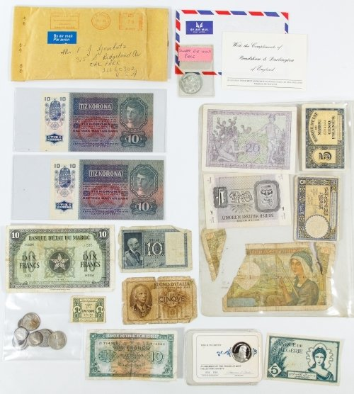 World: Coin and Currency Assortment