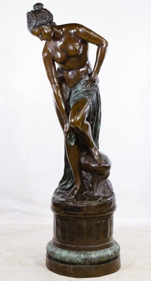 (After) Auguste Moreau (French, 1834-1917) Bronze