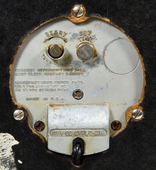 Postal Telegraph Electric Wall Clock by Hammond Clock - 4