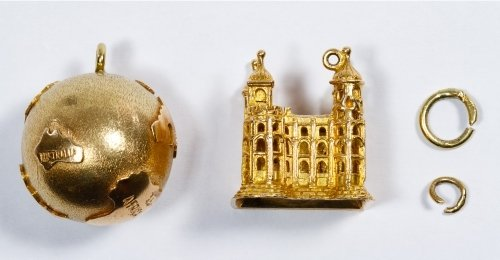 14k Gold Charm Assortment