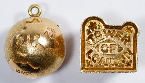 14k Gold Charm Assortment - 2