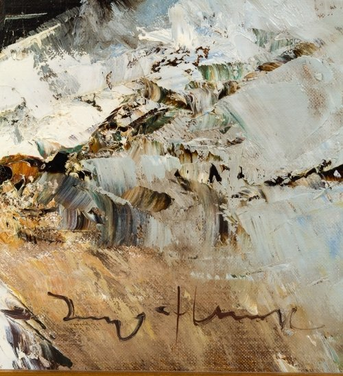Ingfried Paul Henze Morro (American, 1925-2013) Oil on - 5