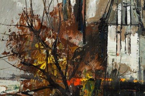 Aldo Paolucci (Italian, 1941-2002) 'Saint Louis, Paris' - 2