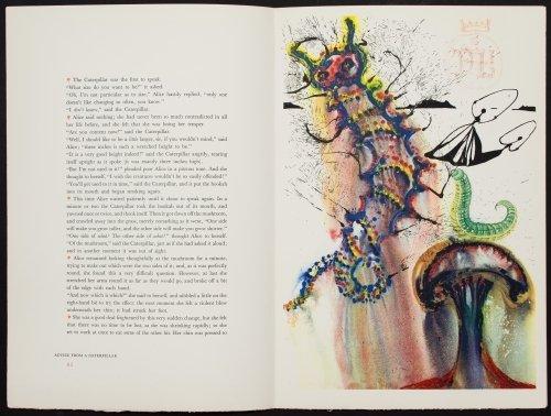 Salvador Dali (Spanish, 1904-1989) 'Alice in - 10