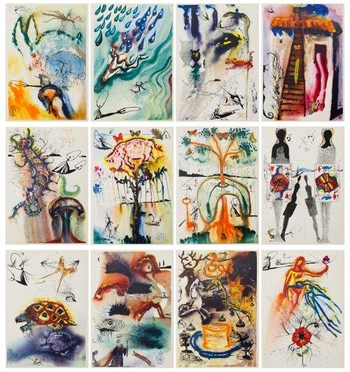 Salvador Dali (Spanish, 1904-1989) 'Alice in