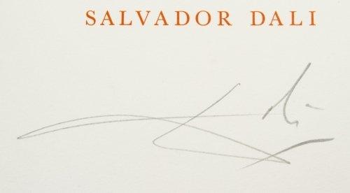 Salvador Dali (Spanish, 1904-1989) 'Alice in - 3