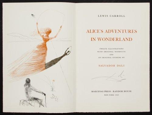 Salvador Dali (Spanish, 1904-1989) 'Alice in - 4