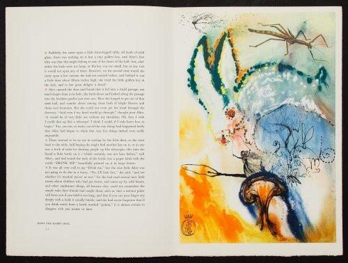 Salvador Dali (Spanish, 1904-1989) 'Alice in - 6