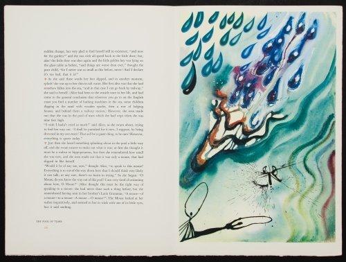 Salvador Dali (Spanish, 1904-1989) 'Alice in - 7